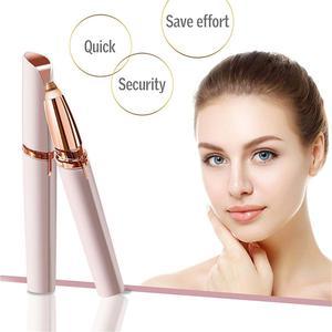 Eyebrow Hair Remover Portable Electric Painless Facial Hair Razor