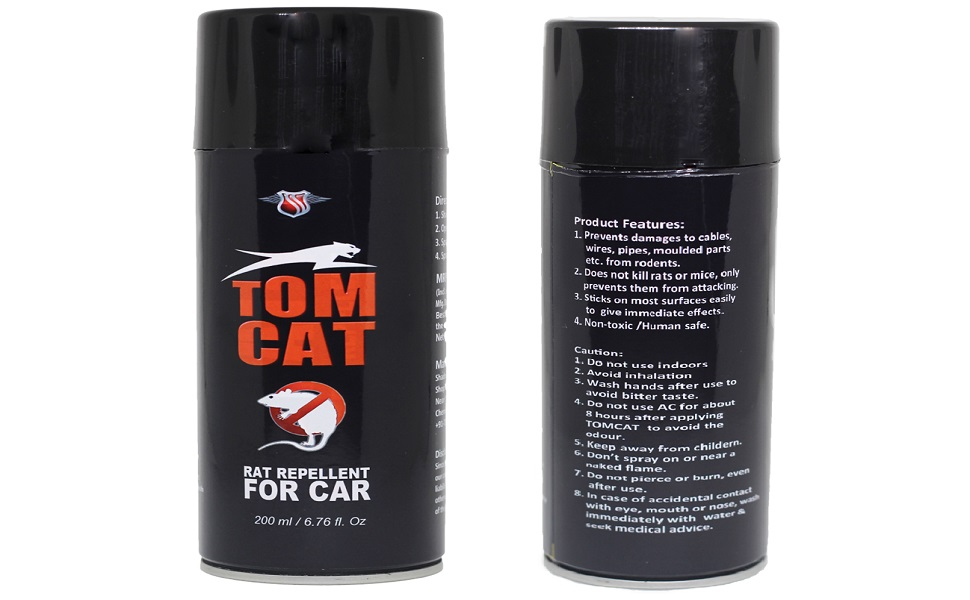 Shadow Securitronics Tom CAT No Entry: 1st time in India- Rat Repellent Spray for Cars