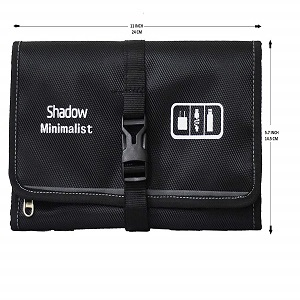 Shadow Securitronics Minimalist New Launch Gadget Organizer Bag for all Gadgets, Mobile Accessories