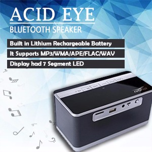 Portable Wireless Speaker with Battery