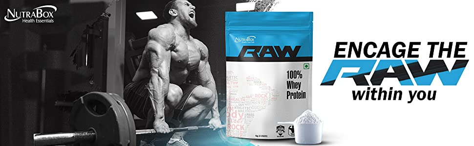 Encage Raw Within You Nutrabox Raw 100% Whey Protein
