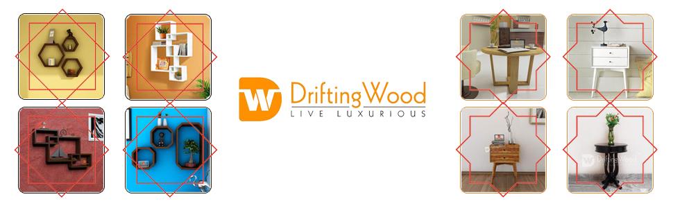 DriftingWood Sheesham Wood Writing Study Table for Home