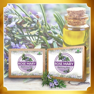 Rosemary Oil and Vitamin E Soap