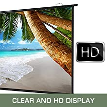Clear and HD Display