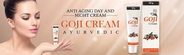 Shivalik herbals,goji cream, day cream, night cream ,ayurvedic, herbal, wrinkle free