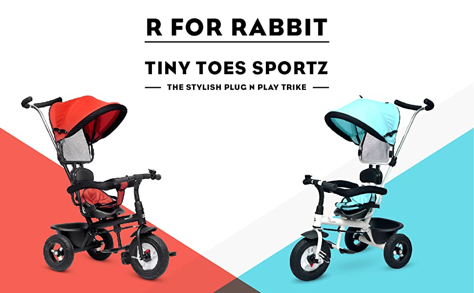 R for Rabbit Tiny Toes Sportz - The Stylish Plug N Play