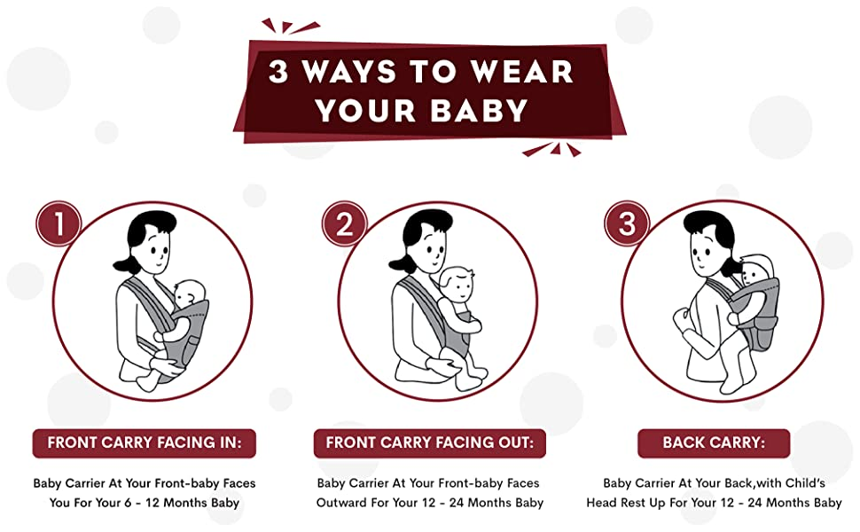 3 Ways to Wear Your Baby