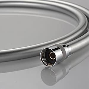 Punctual Household Replaced Hardware Abs Spring Flexible Elastic Shower White Hose Long Performance Life Pipes & Fittings
