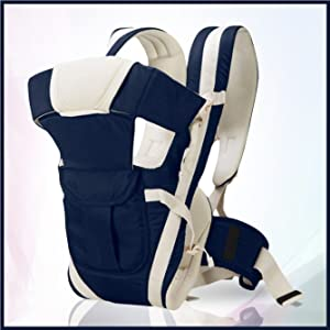 carrier bag navy blue