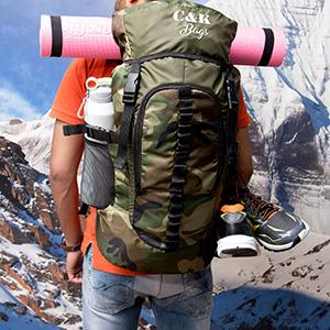 hiking bag, Camping bag, Camouflage Bag, Rucksack under 1000, trekking, chris & Kate bag, CKB_186LL