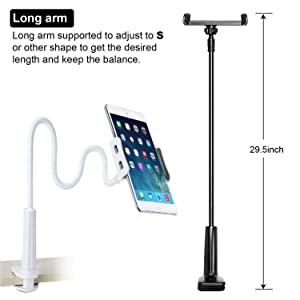 mobile holder for bed