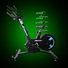 Seat & Handle Adjustment Spin bikes