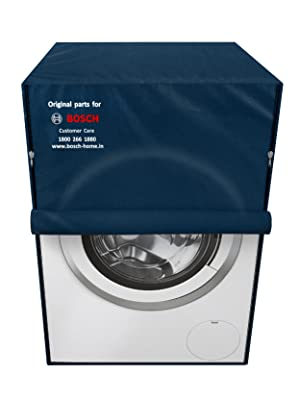 Bosch original dust cover for washing machine and dishwasher blue grey for protection durable