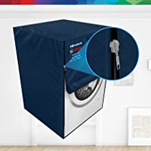 bosch original protective dust cover for washing machine dishwasher with zip zipper for easy use