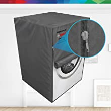 Bosch original protective dust cover for washing machine dishwasher scratch-proof water-proof zip