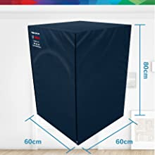 Bosch original protective dust cover for washing machine and dishwasher blue precise fit design