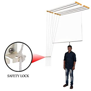 Wudore Cloth Dryer With Safety