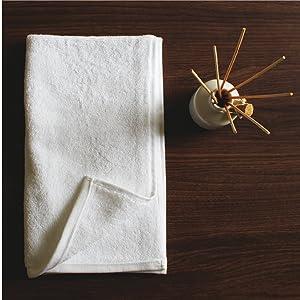 Heelium Bamboo Hand Towel for Sports & Gym, Ultra Soft, Super Absorbent, Antibacterial