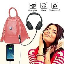 deal especial smart backpack girls collage bag