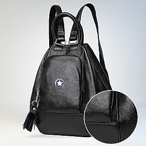 smart collage school girls bag office bag convertible multi use backpack handbag sling bag