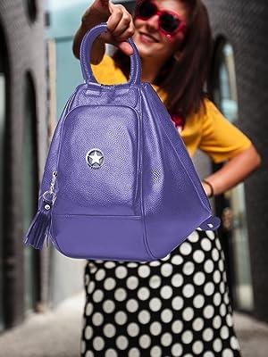 deal especial blue smart backpack bag