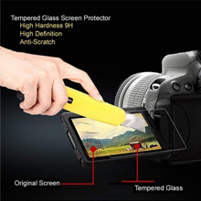 Tempered Glass Screen Guard Protector for Canon Eos 200D Digital SLR Camera