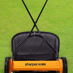 Lawn Mower with Grass Catcher