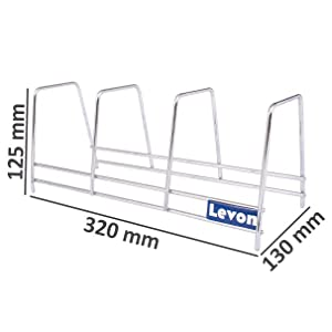 3 Sections Rack Dimension