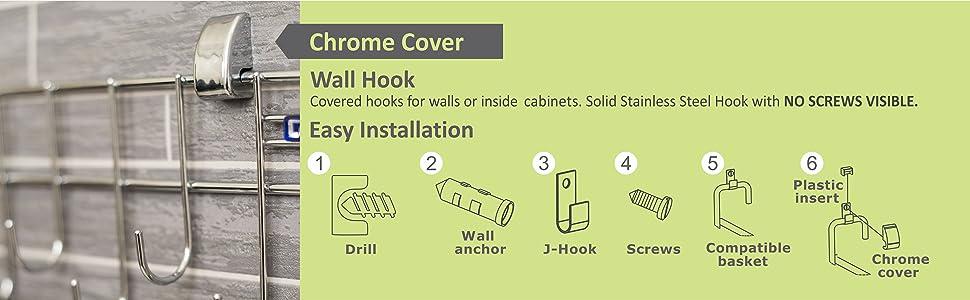 Ladle Hook Rail;Levon;Levon Homes;Kitchen Accessories;Home Essentials