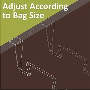 Adjust According to Bag Size
