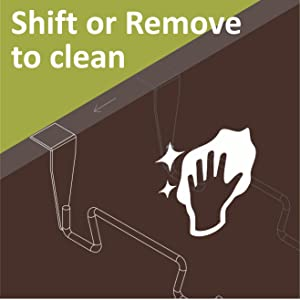 Shift or Remove to clean
