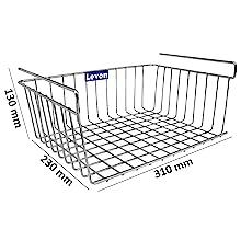 Dimension;Under Shelf Basket;Basket;Levon Homes;Accessories;Kitchen Essentials;Home Organisers