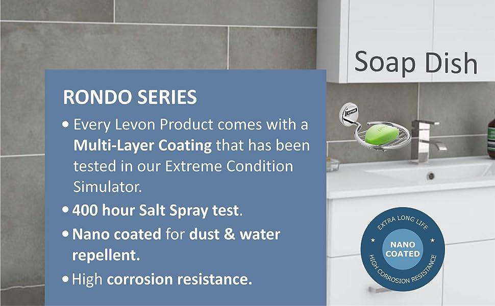 Levon Rondo Series Soap Dish