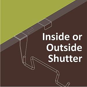 Inside or  Outside Shutter