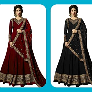 Maroon and Black Color Latest Designed