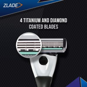 4 Blade Razor for Men compare with Gillette Mach 3