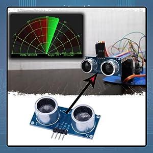 Easy electronics ultrasonic distance sensor