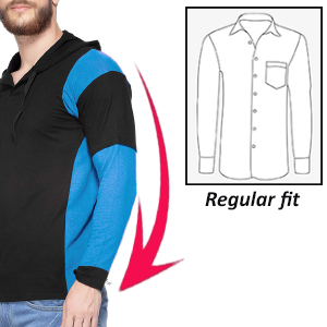 Regular fit with full sleeves