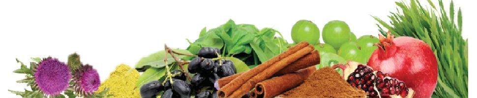 Superfood greens & herbs Sugar control ingredients