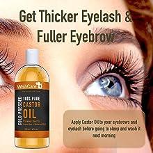 WishCare Castor Oil - Eyelash