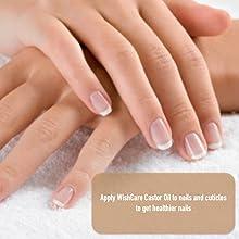 WishCare Castor Oil - Hand