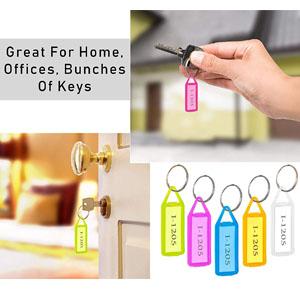 key tag label