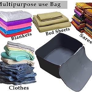 underbed storage bag storage bag quilts and pillow storage bag