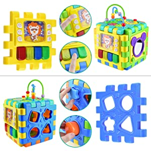 6 IN 1 ACTIVITY CUBE