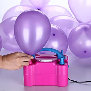 balloons with pump