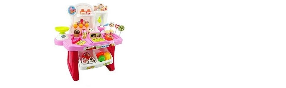 Super-market Pretend Play Toy Shop!