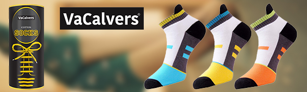 VaCalvers Men's Multicolor Cotton Socks