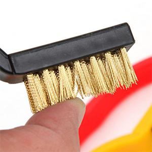 3 Pcs Mini Wire Brush Set