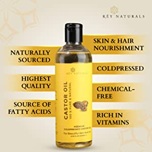 castor oil hair growth organic hair skin cold pressed