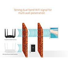 Strong Dual Band WiFi signal